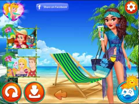 Мультик игра Принцесса Моана: Побег в рай (Moana's Paradise Escape)
