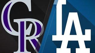 4/18/17: Arenado homers twice in win over the Dodgers