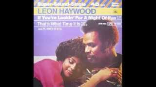 Leon Haywood - If You