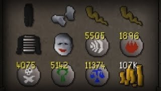 I Carried Mime Set for 100hrs - F2P Ultimate Ironman Progress