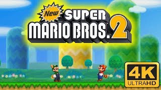 New Super Mario Bros. 2 4K Gameplay | Citra Emulator