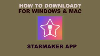 STARMAKER APP: HOW TO DOWNLOAD FOR PC? WINDOWS & MAC!! screenshot 4