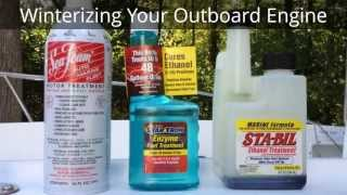 How to Winterize Evinrude, Johnson, and other Outboard Boat Engines HD