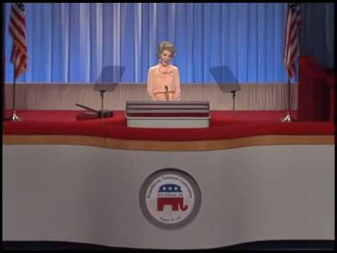 Nancy Reagan's Address to the Republican National Convention on August 15, 1988
