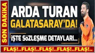 Galatasaray Arda Turan Transferini Bitirdi! I Terim İle Özel Görüştüler!