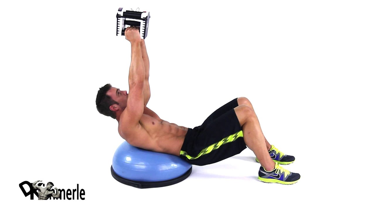 Bosu Crunch Weighted