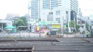 【側面展望】モハ1859 西新井付近→谷塚付近【日光臨】