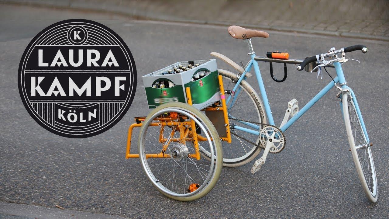 Foldable Sidecar for my Bike (Beer Bike 2 0)
