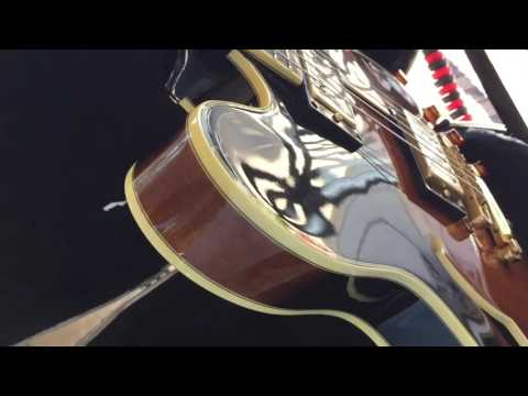 Unboxing 1989 Epiphone Sheraton in Tobbaco Sunburst MIK compare to guitar center model