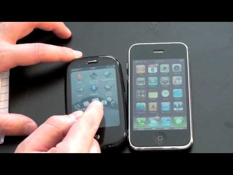 Palm Pre Vs. iPhone 3G