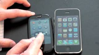 Palm Pre Vs. iPhone 3G