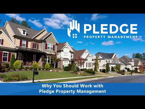 Why You Should Work with Pledge Property Management