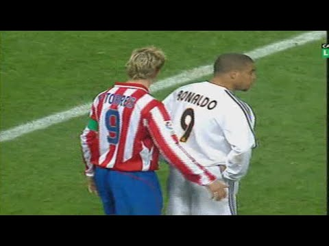 Fernando Torres vs Real Madrid Away 03-04