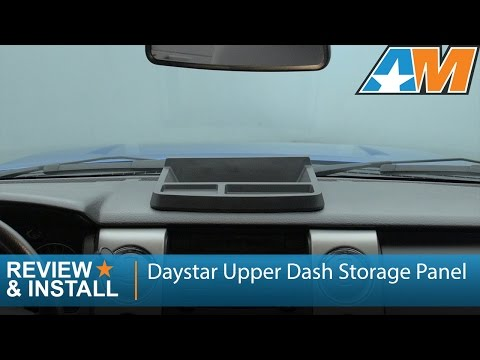 2009-2014 F-150 Daystar Upper Dash Storage Panel Review & Install
