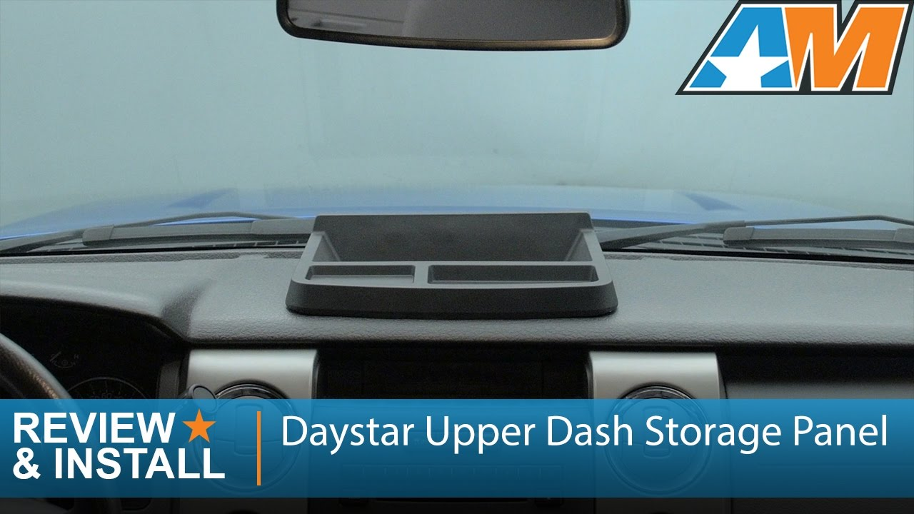 2009 2014 F 150 Daystar Upper Dash Storage Panel Review