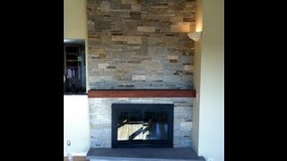 Stone Fireplace Install Swampscott MA