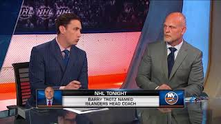 NHL Tonight  Barry Trotz: heads to the Islanders  Jun 21,  2018