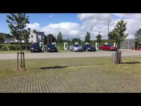 Tesla Super Charger (Randers) Review