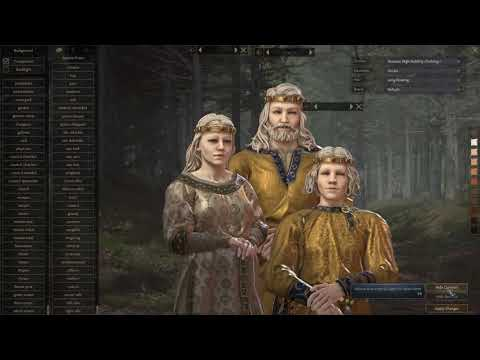 Crusader kings 3 - french albino count gameplay w/Mods |