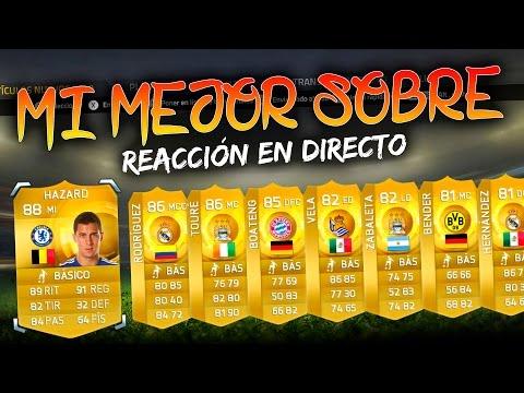 FIFA 15 | MI MEJOR SOBRE + REACCIÓN!!