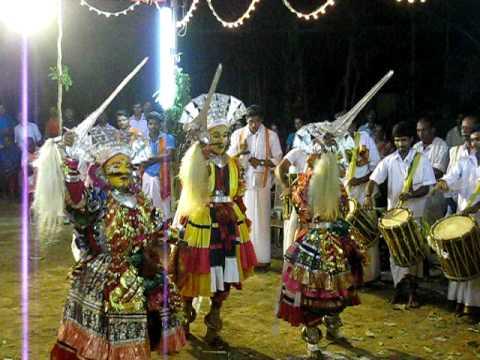 Bhoota Kola - a folk custom observed in Karnataka.