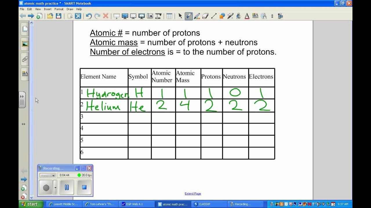 Garris Atomic Math