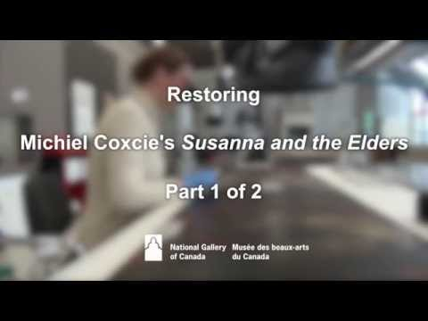 Restoring Michiel Coxcie's Susanna and the Elders  Part 1 of 2