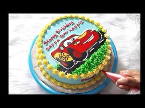 Kue Ulang Tahun Anak Mc Queen 01 Kue Ultah Pusat