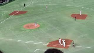 日米野球 柳田 逆転サヨナラホームラン