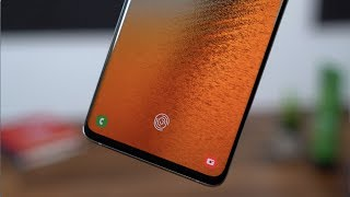 Samsung Galaxy S10 Ultrasonic Fingerprint Explained!