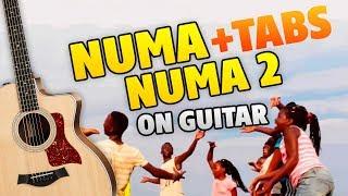 Dan Balan - Numa Numa 2 (fingerstyle guitar cover with tabs and karaoke)