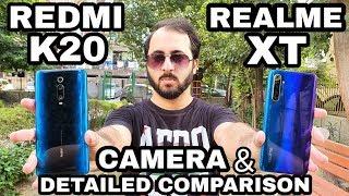 Realme XT vs Redmi K20 Camera Comparison|Performance, Gaming, Battery Comparison|Camera Review