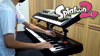 【スプラトゥーン2】シンセでSeasick 弾いてみた【キーボード】Splat…