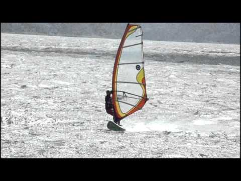 Costa Rica, Lake Arenal Windsurfing January 2013 at Tico Wind
