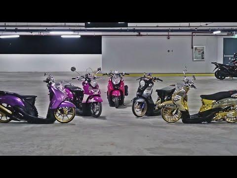 Modifikasi Yamaha Fino Classic, Ceper abis!!
