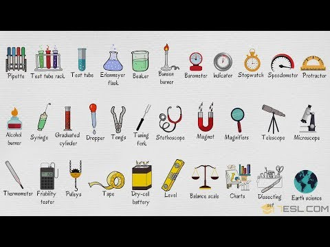 Laboratory Equipment Names | List Of Laboratory Equipment In English