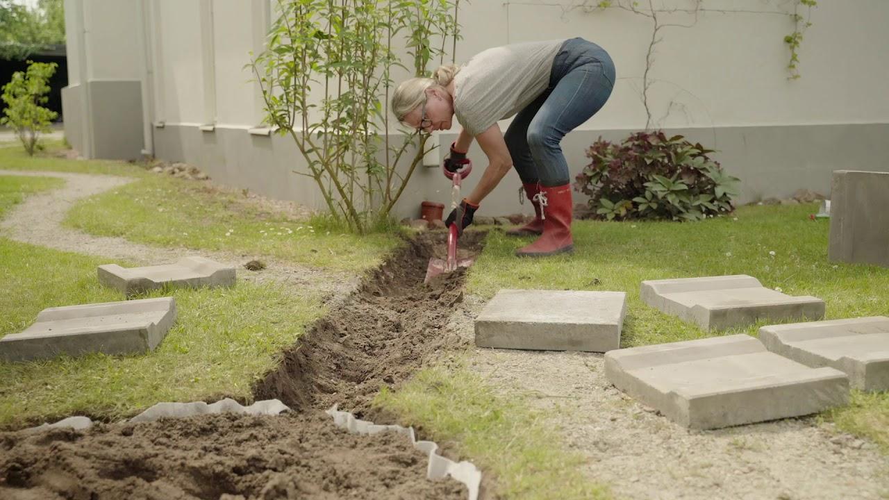 gräva ner stuprör