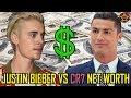 JUSTIN BIEBER vs CRISTIANO RONALDO | Net Worth 2017