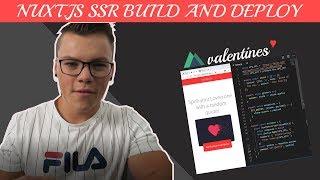 Nuxt js SSR Tutorial - Build and deploy a love quotes app ??
