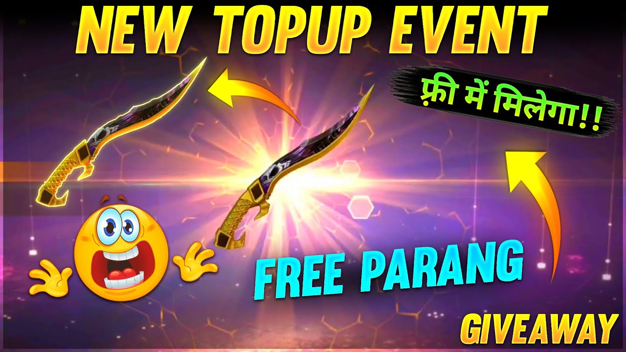 New Update Parang Top Up Event🔥😍Free Giveaway!!