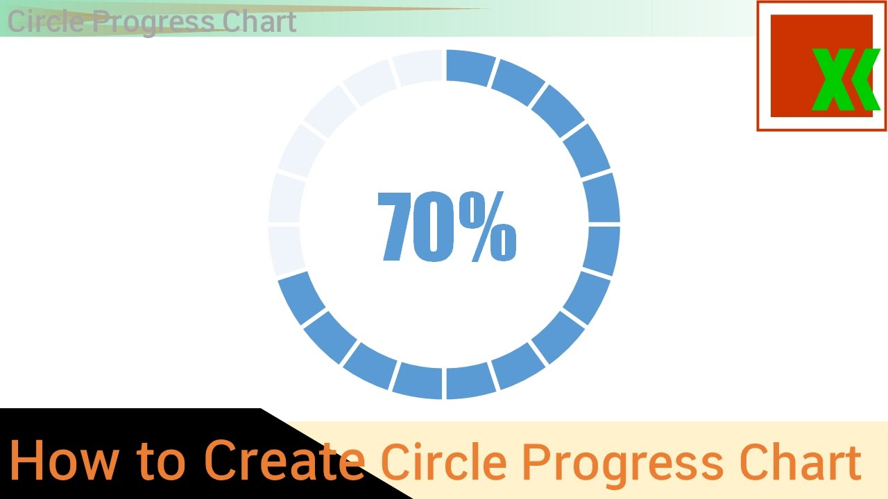 how to make a percentage circle