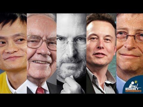 20 Lecciones de Negocios de 20 Empresarios Exitosos 🤔
