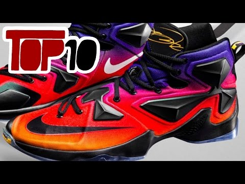 Top 10 Nike Lebron 13 Shoes of 2016