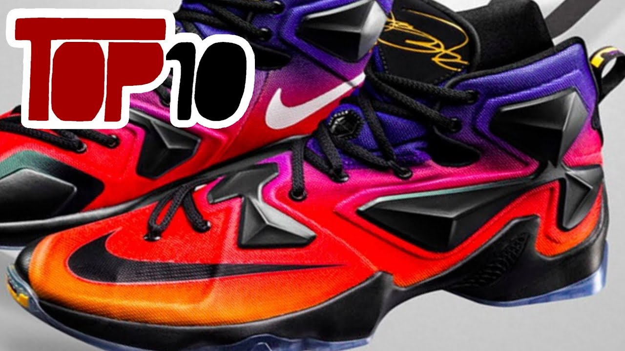 online store f7682 a787c Top 10 Nike Lebron 13 Shoes of 2016