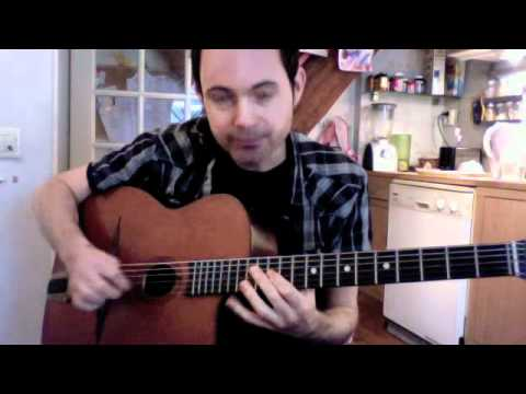 How to play Tainted Love - Gypsy Jazz Style