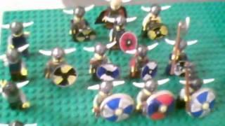 Lego Black Falcon Guard Trebuchet Attacking The Dark Hoard!