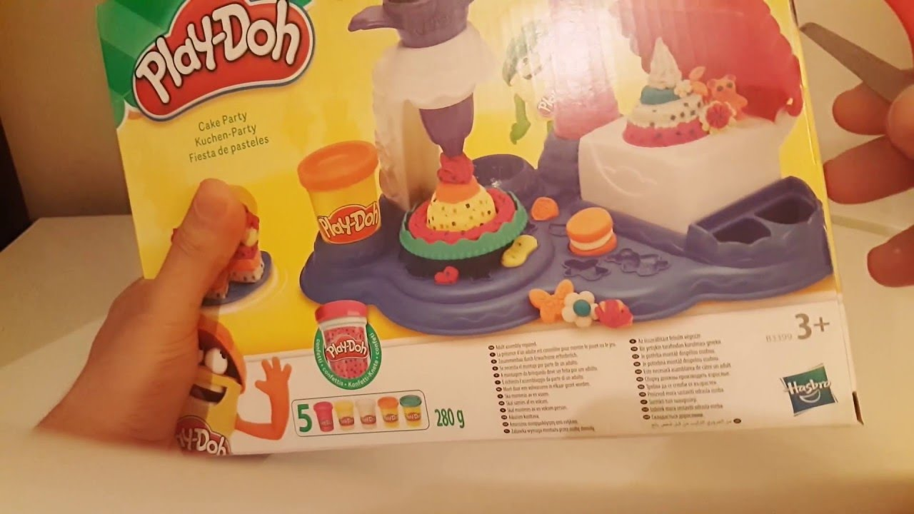 Play Doh Küchenparty Play Doh Cake Party Kuchen Party