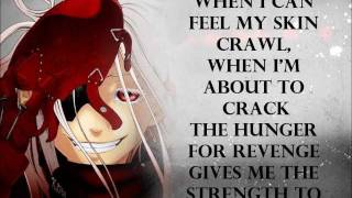 Fade - One Reason - Deadman Wonderland OP [Lyrics On-Screen]
