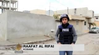 Peshmerga in Kobane fire rockets at ISIL Middle East English