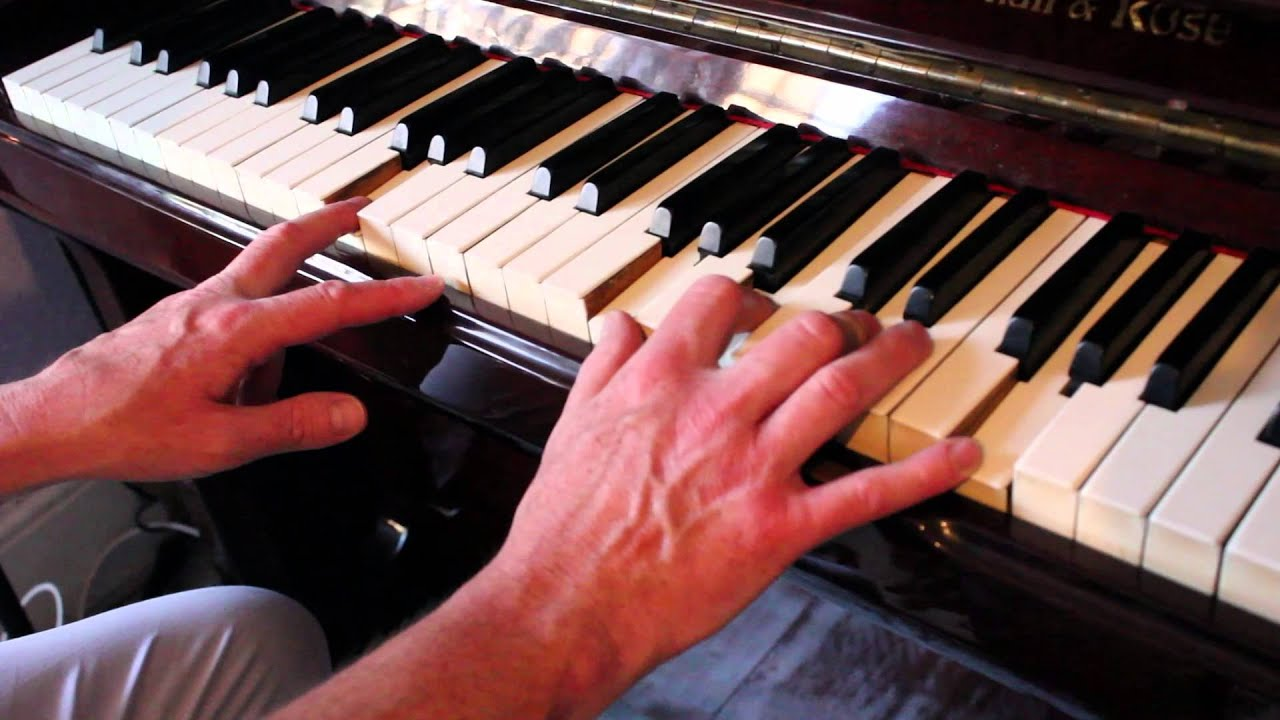 Jerry Lee Lewis style country piano tutorial with solo